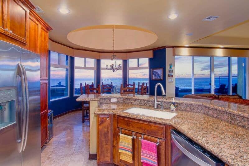 Kitchen to ocean